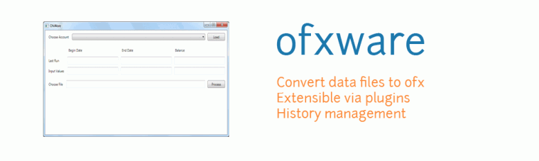 Introducing ofxware